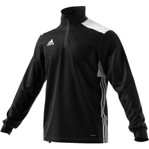 Sweat 1/2 Zip Training Regista 18 Noir/Blanc adidas