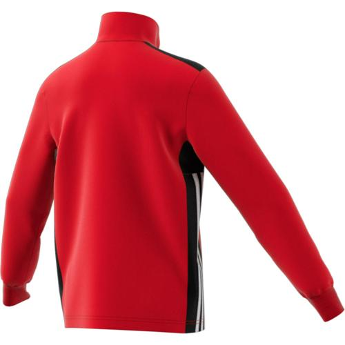 Sweat 1/2 Zip Training Regista 18 Enfant Rouge/Noir/Blanc adidas