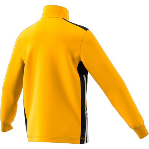 Sweat 1/2 Zip Training Regista 18 Enfant Jaune/Noir/Blanc adidas