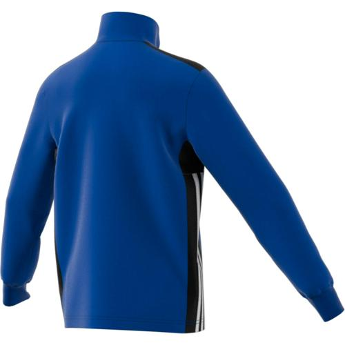 Sweat 1/2 Zip Training Regista 18 Enfant Royal/Noir/Blanc adidas