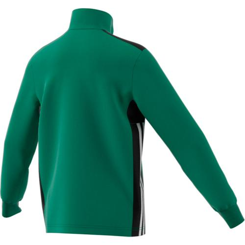 Sweat 1/2 Zip Training Regista 18 Enfant Vert/Noir/Blanc adidas
