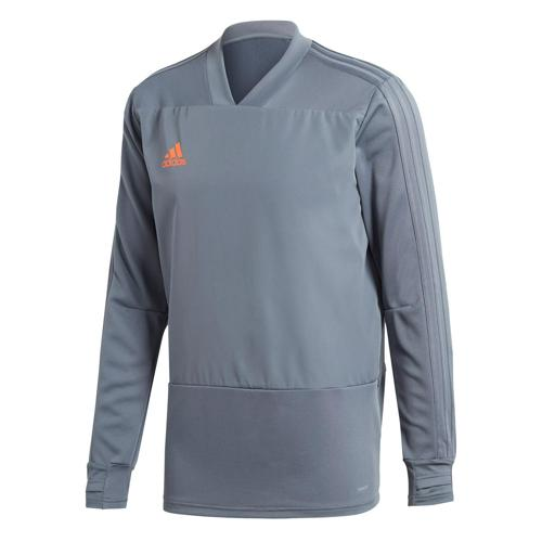 Sweat Training Top Condivo 18 Gris Onix adidas