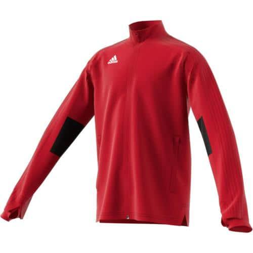 Veste Training Condivo 18 Enfant Rouge/Noir adidas