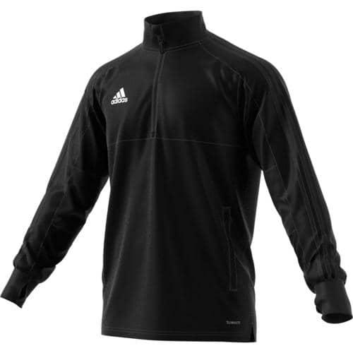 Sweat Training Top 2 Condivo 18 Noir/Noir adidas