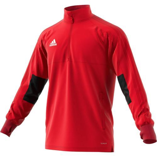 Sweat Training Top 2 Condivo 18 Rouge/Noir adidas