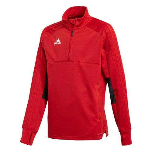 Sweat Training Top 2 Condivo 18 Enfant Rouge/Noir adidas