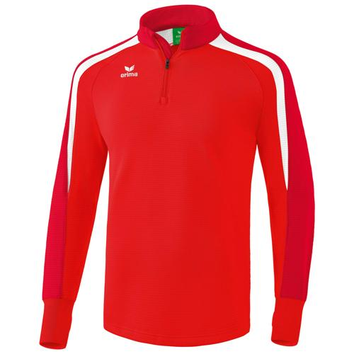 Sweat 1/2 zip Erima Liga 2.0 Rouge/Blanc