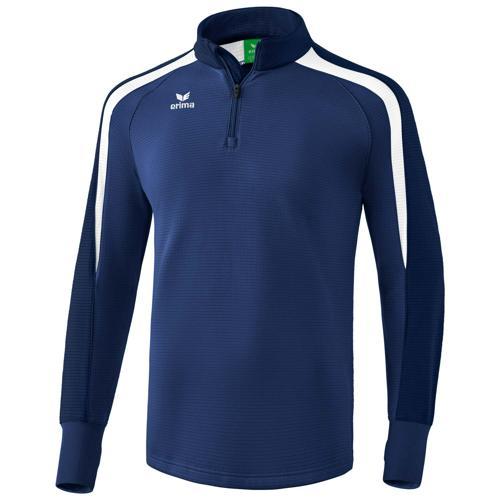 Sweat 1/2 zip Erima Liga 2.0 Marine/Blanc