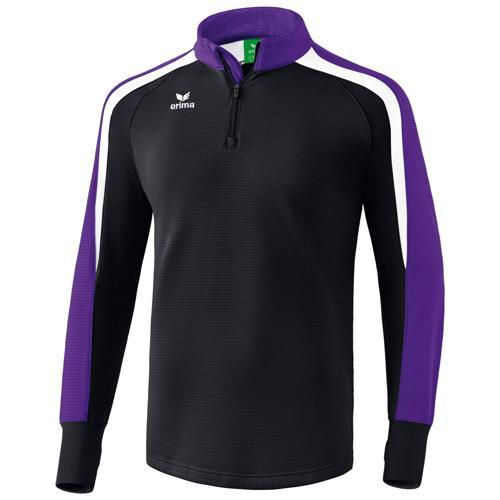 Sweat 1/2 zip Erima Liga 2.0 Noir/Blanc