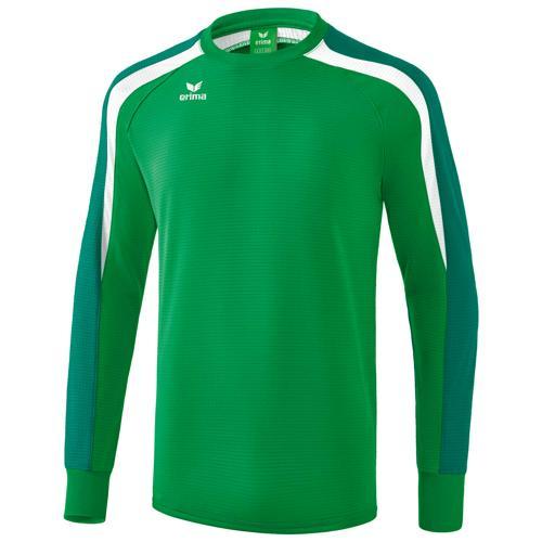 Sweat Erima Top 2.0 Liga Vert/Blanc/Gris