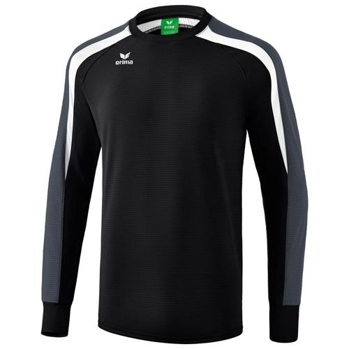 Sweat Erima Top 2.0 Liga Noir/Blanc/Gris