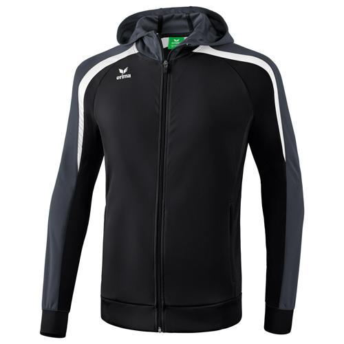 Veste capuche Erima 2.0 Liga Noir/Blanc