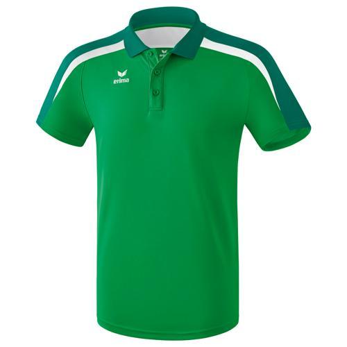 Polo PES Erima Liga 2.0 Vert/Blanc
