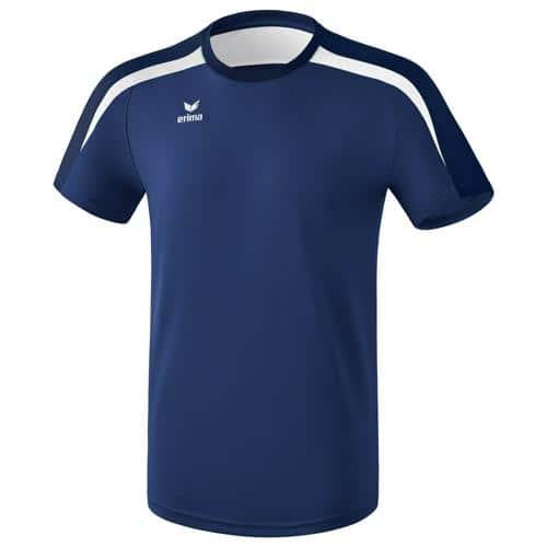 Tee-shirt PES Erima Liga 2.0 Marine/Blanc