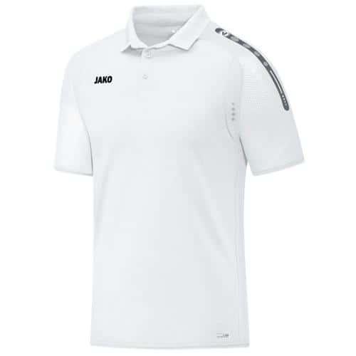 Polo Jako Champ Blanc/Blanc