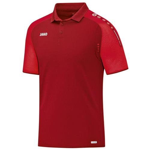 Polo Jako Champ Rouge/Rouge