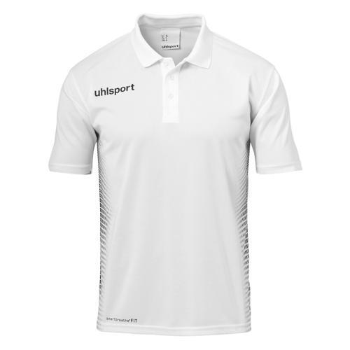 Polo Score Uhlsport PES Blanc/Noir