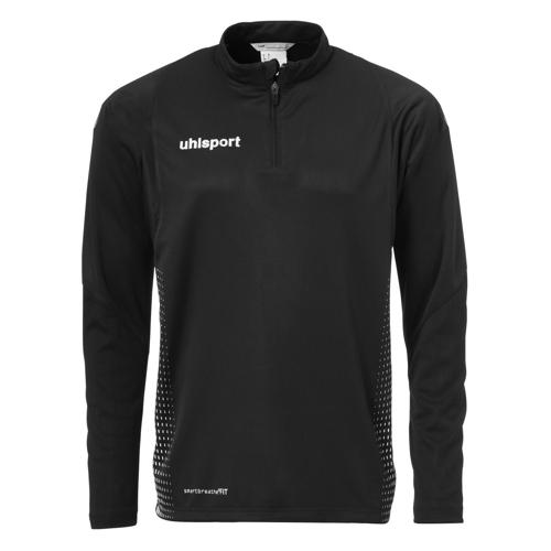 Sweat 1/2 zip Uhlsport Score Noir/Blanc