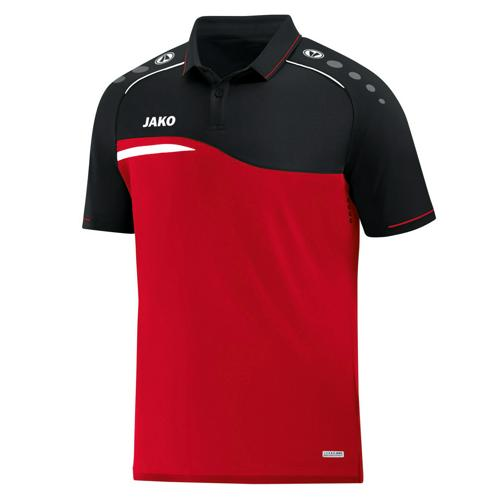 Polo Jako Competition 2.0 Rouge/Noir