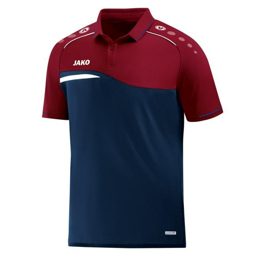 Polo Jako Competition 2.0 Marine/Rouge