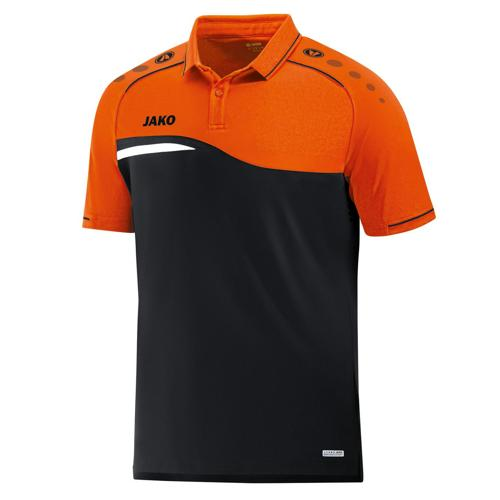 Polo Jako Competition 2.0 Noir/Orange