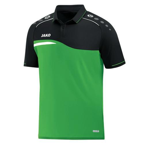 Polo Jako Competition 2.0 Vert/Noir