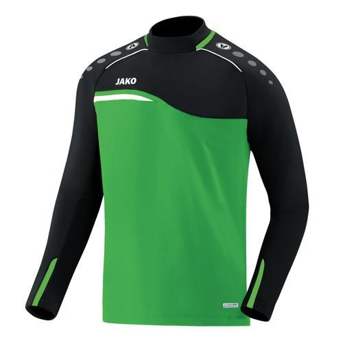 Sweat Jako Competition 2.0 Vert/Noir