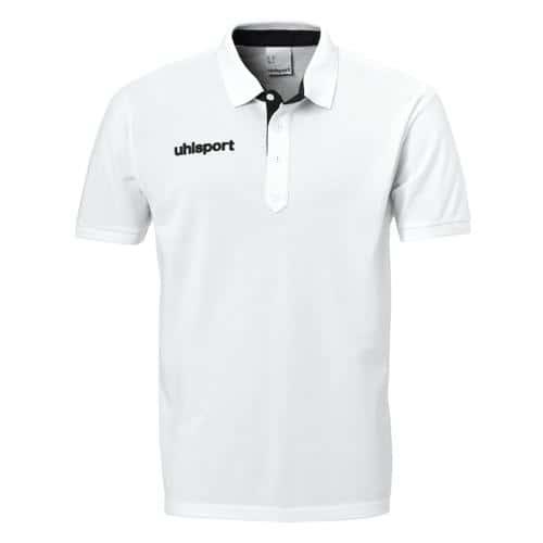 Polo Uhlsport Prime Essential Blanc/Noir