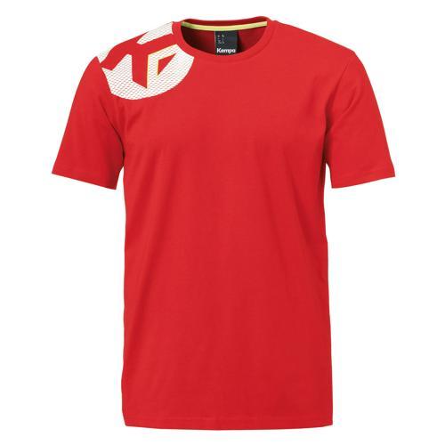 T-Shirt Kempa Core 2.0 MC Rouge