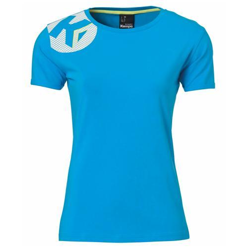 T-Shirt Kempa féminin Core 2.0 Bleu