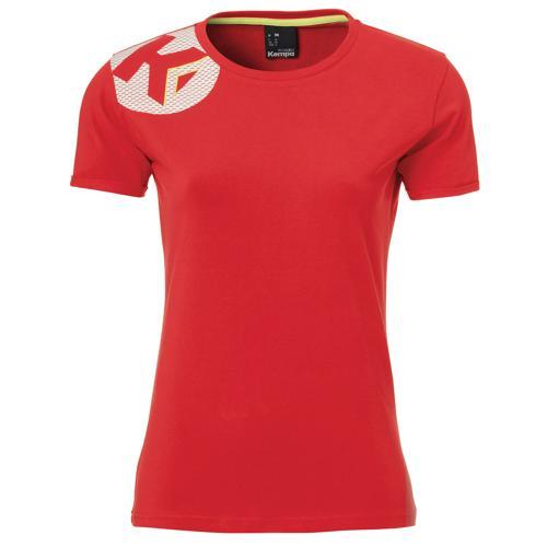 T-Shirt Kempa féminin Core 2.0 Rouge