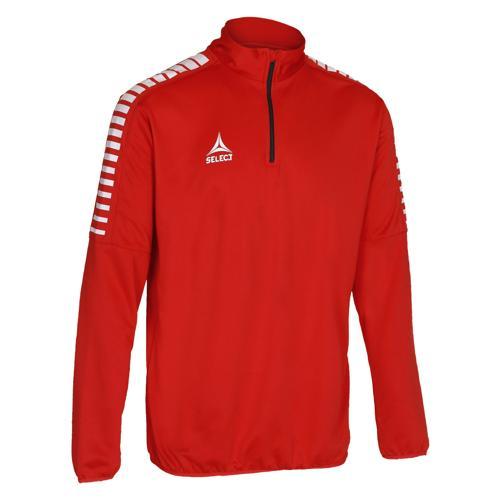 Sweat Select 1/2 Zip Argentina Rouge