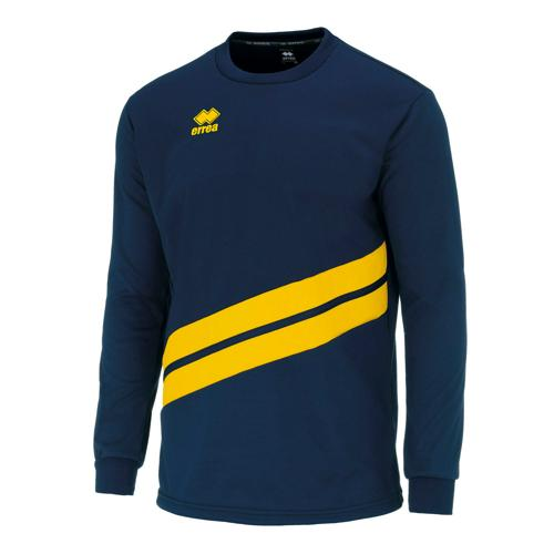 Sweat Errea Top Julio Marine/Jaune