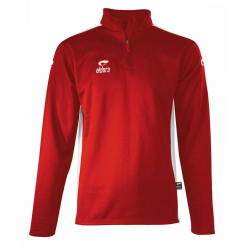 Sweat-shirt 1/2 zip Eldera Spido Rouge