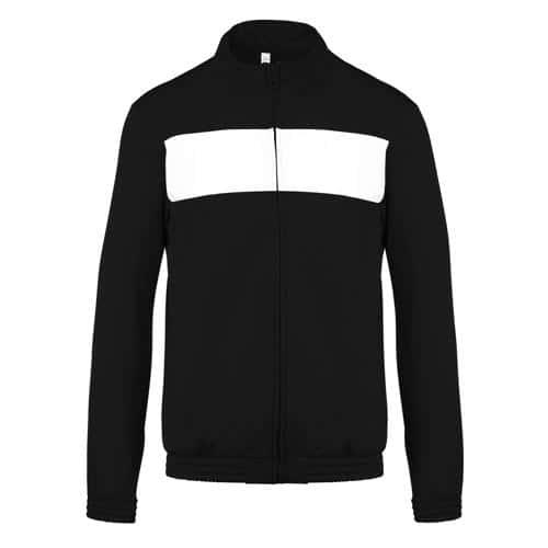 Veste Match Casal Sport Noir/Blanc