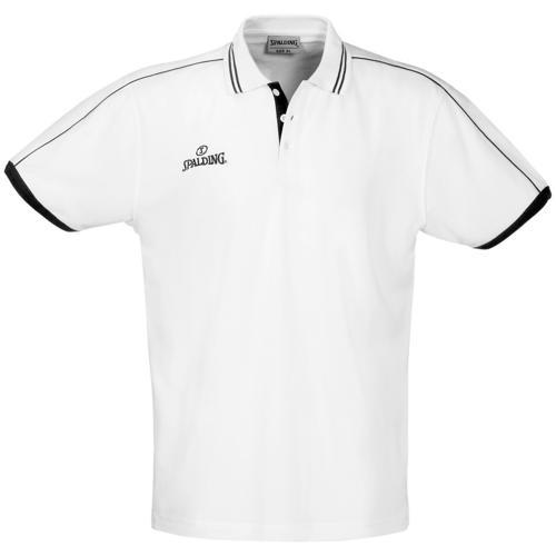 Polo Spalding Offcourt MC Blanc