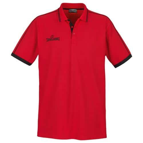 Polo Spalding Offcourt MC Rouge