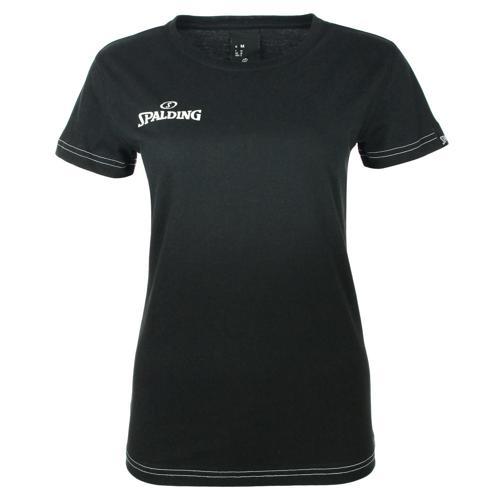 Tee-shirt Féminin Spalding Team II Noir