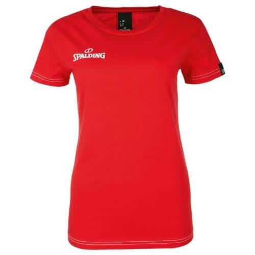 Tee-shirt Féminin Spalding Team II Rouge