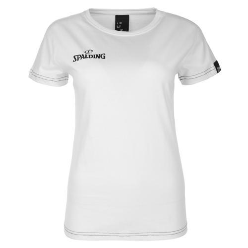 Tee-shirt Féminin Spalding Team II Blanc
