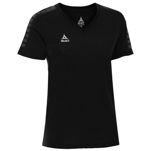 T-shirt Select féminin Torino Noir