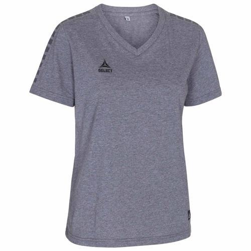 T-shirt Select féminin Torino Gris