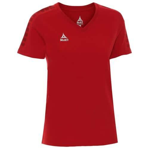T-shirt Select féminin Torino Rouge