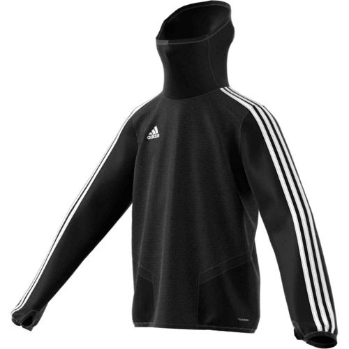 Sweat warmup noir Tiro 19 Enfant ADIDAS