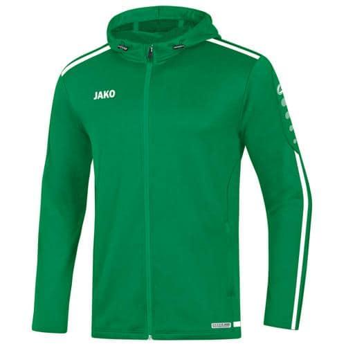 Veste capuche Striker 2.0 Vert/Blanc JAKO