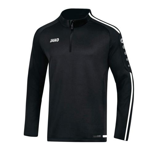 Sweat 1/2 zip Striker 2.0 Noir/Blanc JAKO