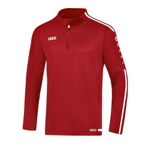 Sweat 1/2 zip Striker 2.0 Rouge/Blanc JAKO