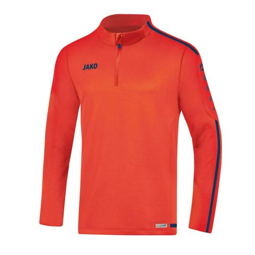 Sweat 1/2 zip Striker 2.0 Rouge/Marine JAKO