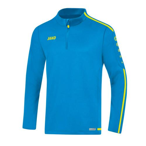 Sweat 1/2 zip Striker 2.0 Bleu/Jaune fluo JAKO