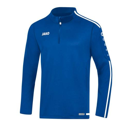 Sweat 1/2 zip Striker 2.0 Royal/Blanc enfant JAKO